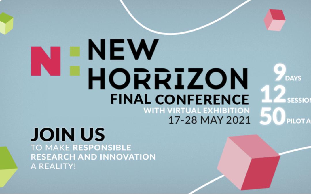 NewHoRRIzon Final Conference – 20 May 2021