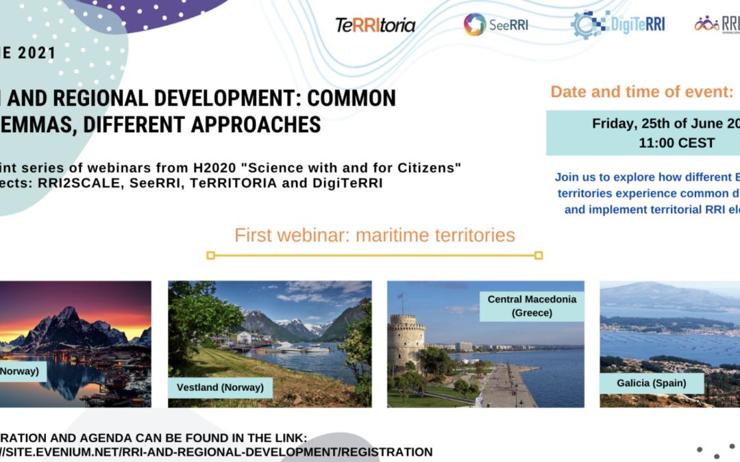 RRI and regional development: common dilemmas, different approaches